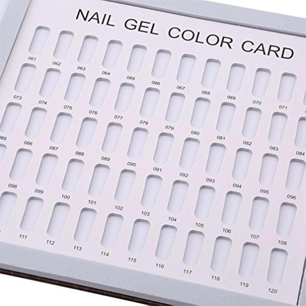 受粉者参照する歯科のLJSLYJ 120色 シンプルでスタイリッシュ サンプル帳 カラーチャート ブック ネイルマニキュアカラー色見本 ネイルジェルカードボックス,コーヒーローズ模様