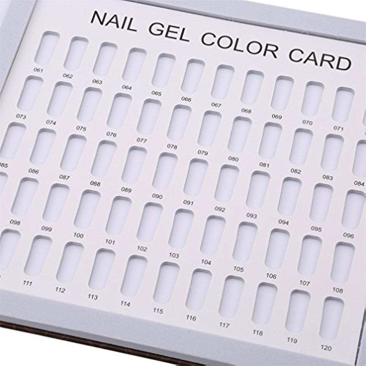 LJSLYJ 120色 シンプルでスタイリッシュ サンプル帳 カラーチャート ブック ネイルマニキュアカラー色見本 ネイルジェルカードボックス,コーヒーローズ模様
