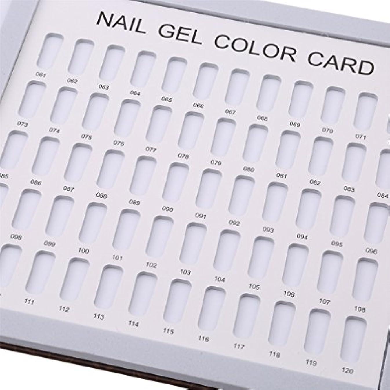 下向き動かない消費するLJSLYJ 120色 シンプルでスタイリッシュ サンプル帳 カラーチャート ブック ネイルマニキュアカラー色見本 ネイルジェルカードボックス,コーヒーローズ模様