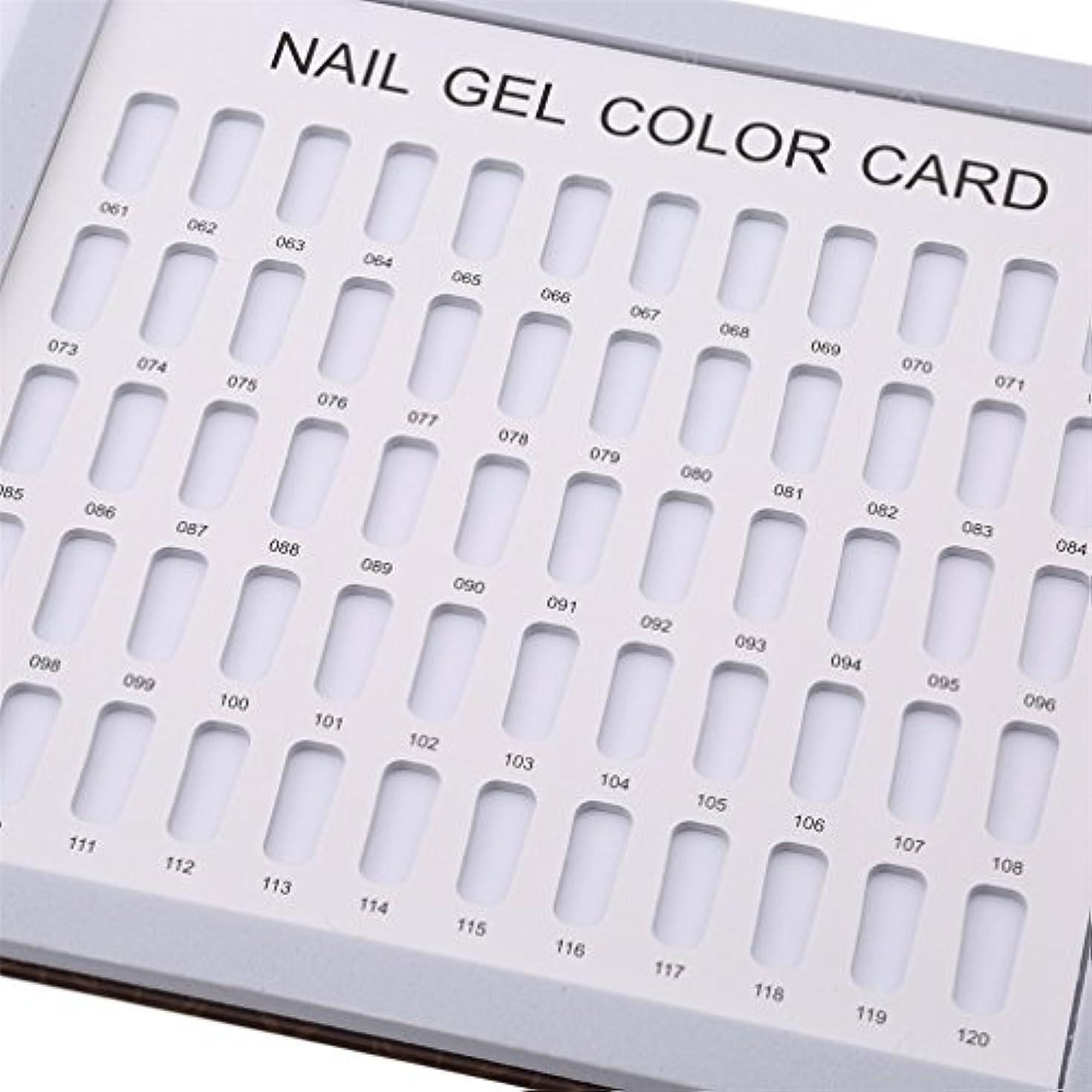 印刷するそれるすでにLJSLYJ 120色 シンプルでスタイリッシュ サンプル帳 カラーチャート ブック ネイルマニキュアカラー色見本 ネイルジェルカードボックス,コーヒーローズ模様