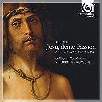Jesu Deine Passion: Cantatas Bwv22 23 127 & 159