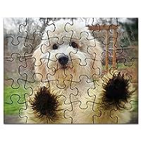 CafePress–Goldendoodle子犬犬–ジグソーパズル、30個。