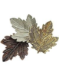 Fenteer 古典的  ブローチ 葉 秋の雰囲気 贈り物 人気  文芸的 自然系  飾り 装飾