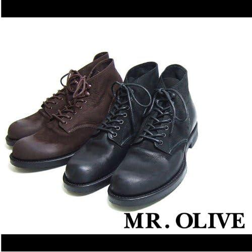 【MROLIVE(ミスターオリーブ)】セブンホールハンティングブーツ 9 1/2(L)サイズ ブラック