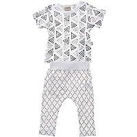 Babyushka Shibori Organic Shirt and Pant Set, 00
