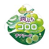 【販路限定品】UHA味覚糖 潤ぷちコロロ アロエ&マスカット 52g×6袋