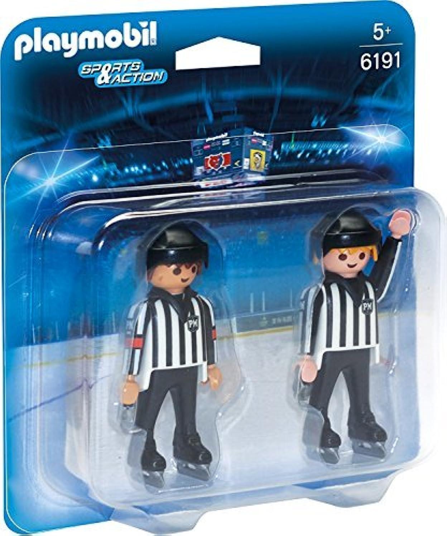 PLAYMOBIL? 6191 Ice Hockey Referees [並行輸入品]