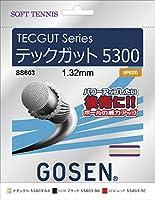 GOSEN(ゴーセン) テックガット 5300 TECGUT 5300 SS603BK 1805 【メンズ】【レディース】 BK.ブラック -