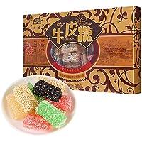 牛皮糖 糖果 キャンデー 間食 老城隍庙牛皮糖(混合口味) 上海特产 零食 小吃 250g