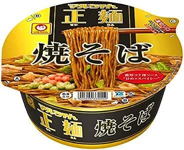 マルちゃん 正麺カップ焼そば 132g×12個入り (1ケース) (KT)
