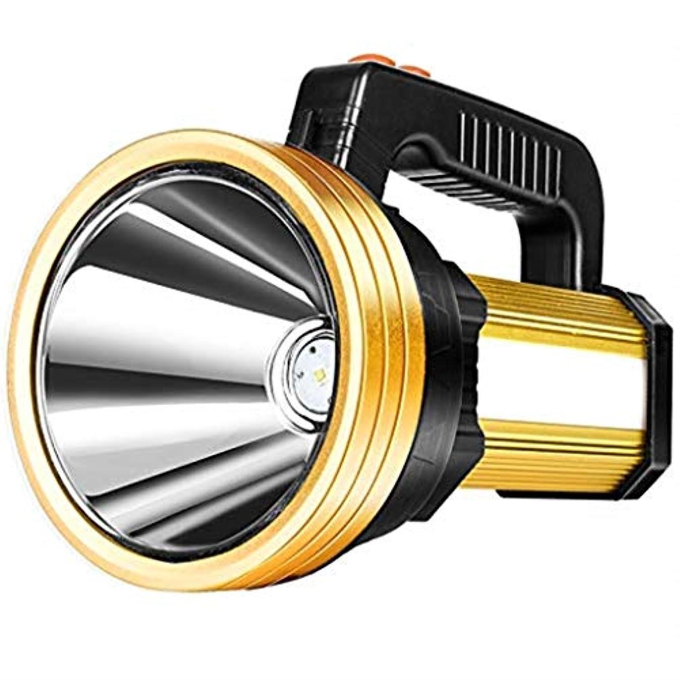反論者積極的に亡命グレア懐中電灯300ワットグレアポータブルサーチライト
