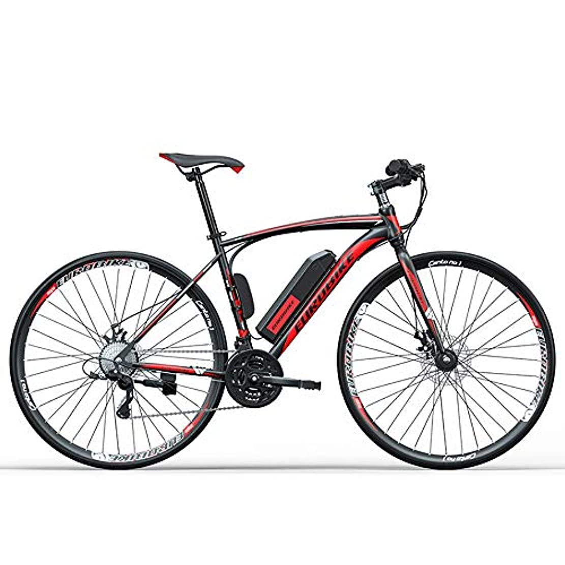心理的にパステルレンズ27.5inch 36V Mountain Electric Bicycle 250W Urban Electric Bikes for Adults Removable Lithium Battery、27-Speed Gear Electric Power-assisted Road Cross-country Road Racing Lithium