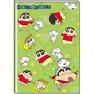 デルフィーノ しんちゃん 19年9月始まり マンスリー手帳 B6サイズ しんちゃん チョコビ KS-36472