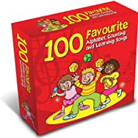 100 Favourite Alphabet Counting & Learning Songs