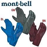 モンベル U.L.シェルグローブ 男女兼用 #1118252 (XS BL ブルー) [mont-bell]
