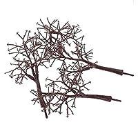 ノーブランド品 20本 1/75 樹木 モデルツリー 鉄道模型 風景飾り プレゼント 12センチメートル