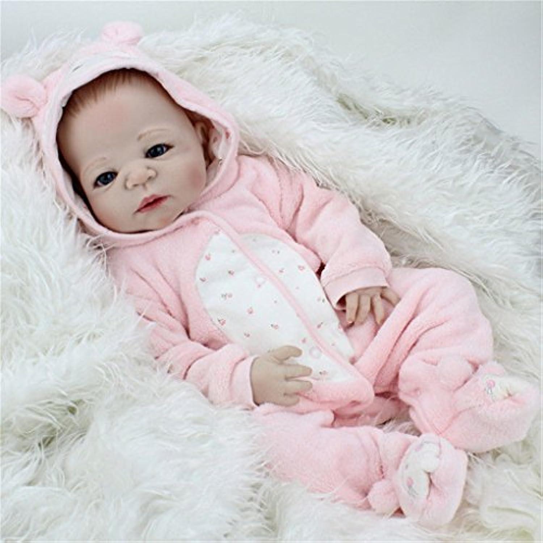 ベビー人形22インチフルボディソフトビニールシリコン赤ちゃん人形