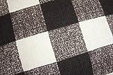 座布団カバー55×59cm チェック柄 ブラウン 綿100% 日本製 画像