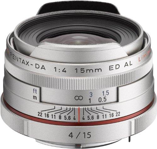 HD PENTAX-DA 15mmF4ED AL Limited シルバー