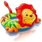 INTEX(インテックス) 子供用 浮き輪 アニマルリング ライオン 72×66㎝ 内径23㎝