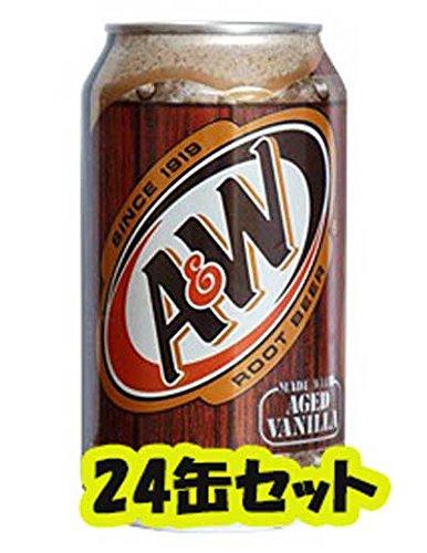 A&W ルートビア 355ml×24本