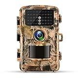 Campark トレイルカメラ 1200万高画質 120°広角レンズ 42枚LED赤外線検知器搭載 1080PフルHD アクセサリー付き 防犯カメラ - Best Reviews Guide