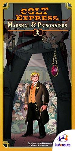 Colt Express : Marshal and Prisonersボードゲーム