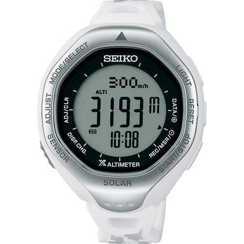 [プロスペックス]PROSPEX 腕時計 アルピニスト ソーラー ハードレックス 日常生活用強化防水(10気圧) SBEB025 レディース