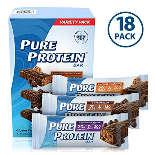 Pure Protein High Protein Bar Variety -18/1.76 oz.  プロテイン&...