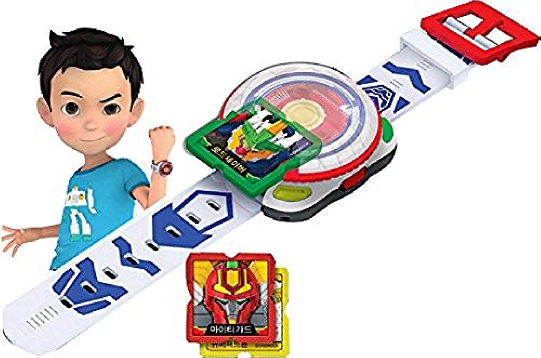 Hello Carbot Watch Ver。2 /韓国アニメーションおもちゃ/手首用時計おもちゃロボットSummoning