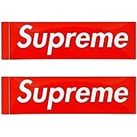 Supreme シュプリーム BOX LOGO STICKER 2P PACK SET ボックス ロゴ ステッカー セット 2枚