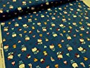 キティ うしろ ブルー オックス生地 2018 かわいい サンリオ キティラー かわいい 生地 布地 子供 女の子 入園入学 通園通学 入園準備 コットン|綿 インテリア ソーイング|ハンドメイド|