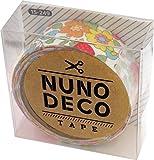 KAWAGUCHI(カワグチ) NUNO DECO TAPE ヌノデコテープ 1.5cm幅 1.2m巻 花柄のスカーフ 15-249