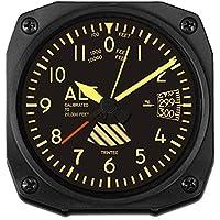 (トリンテック) Trintec 【計器パネル】 Vintage Altimeter (高度計) 目覚し時計 置時計 DM60V