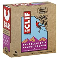 Clif Organic Chocolate Chip Peanut Crunch Bar, 2.4 Ounce - 6 per pack -- 6 packs per case. by Clif Bar