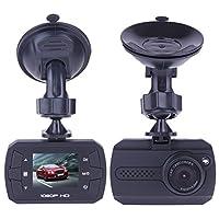 amebayダッシュカム、ダッシュボードカメラレコーダーwithフルHD 1080p、車onダッシュビデオレコーダーwith G–センサー ブラック QJE00000027