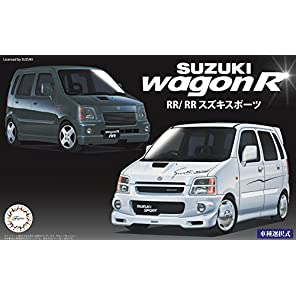 フジミ模型 1/24 インチアップシリーズ No.45 スズキ ワゴンR RR/RR スズキスポーツ プラモデル ID45