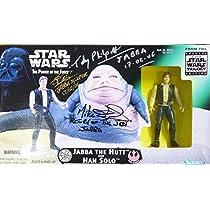 スターウォーズ STAR WARS パワーオブザフォース ベーシックサイズ フィギュア ジャバザハット サイン入り (写真付き) マイクエドモンズ ・ジョンコッピンガー・ トビーフェルポット氏 の直筆サイン入りです  Hasbro ハズブロ