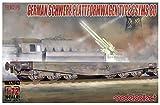 モデルコレクト 1/72 ドイツ軍 平貨車 SSYMS タイプ80 プラモデル MODUA72043