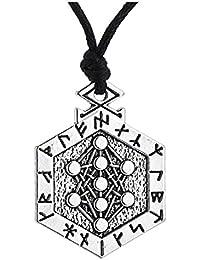 Yggdrasil Amulet Runes Talisman Tree of Lifeペンダントネックレスジュエリー