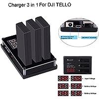 バナナ_ US rcharlance 3 in 1専用バッテリー充電器for multi-dronesマルチバッテリー充電器ハブRCスマートクイック充電器for DJI Tello Drone hzz20180523us008