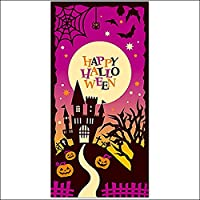 ハロウィン装飾タペストリー お城のハロウィン / ディスプレイ 飾り 装飾  5561