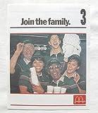 1990年 USマクドナルド チラシ フライヤー 「ジョイン・ザ・ファミリー」 スタッフ募集!