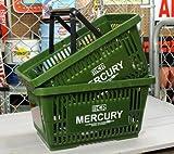 マーキュリー(MERCURY) マーケットバスケット カーキ 2個セット_MC-MEMABAKH2P-MCR