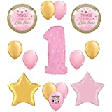 Twinkle Twinkle Little Star 1st Birthday Balloon Decorating Kit by Guaranteeing100percentnowTM
