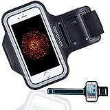 DBPOWER スポーツアームバンド 携帯ケース iPhoneとsumsung Galaxyに対応 超軽量 調節可 (iPhone6/6s/Galaxy S3/S4/S5)
