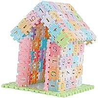 P Prettyia ビルディングブロック 積み木 ブロック 組み立ておもちゃ 子ども 知育玩具 約280点