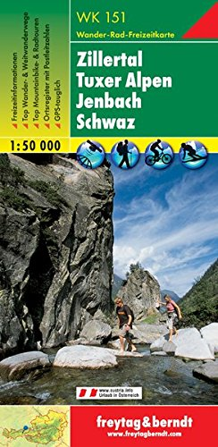 Zillertal, Tuxer Alpen, Jenbac...