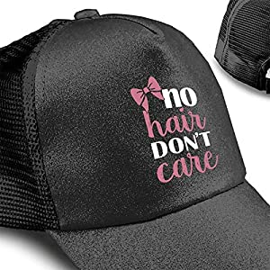 大人 キャップ 帽子No Hair Don't Care Logo 夏 秋 メッシュキャップ 通気性抜群 日除け 紫外線対策 男女兼用 登山 釣り ゴルフ 運転 アウトドアなどに 無地 小顔効果 アウトドアなどにメッシュ帽ゴルフ キャップ