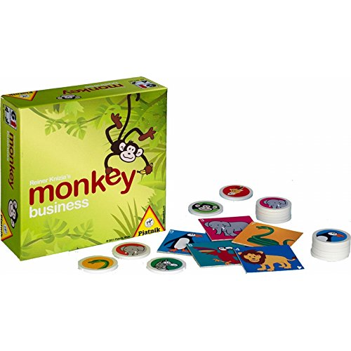 モンキービシネス(チーキーモンキー) 廉価版 (Monkey business) ボードゲーム